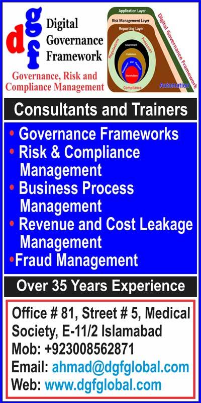 Digital Governance Framework